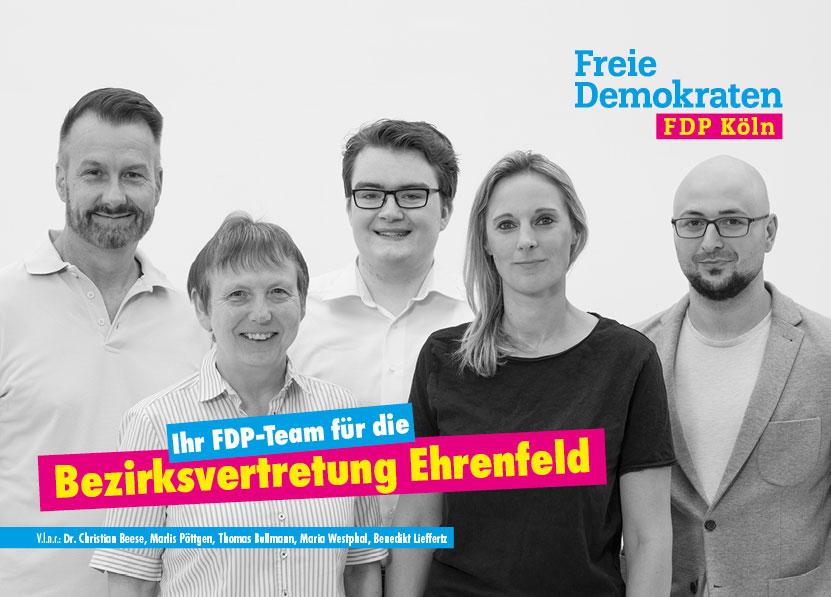 FDP Bezirksvertretung 4 (Ehrenfeld)