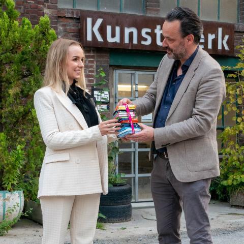 Jana Steup und Lorenz Deutsch